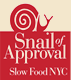 snail of-approval slow food nyc